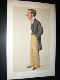 Vanity Fair Print 1878 John Morley, Newspaperman.